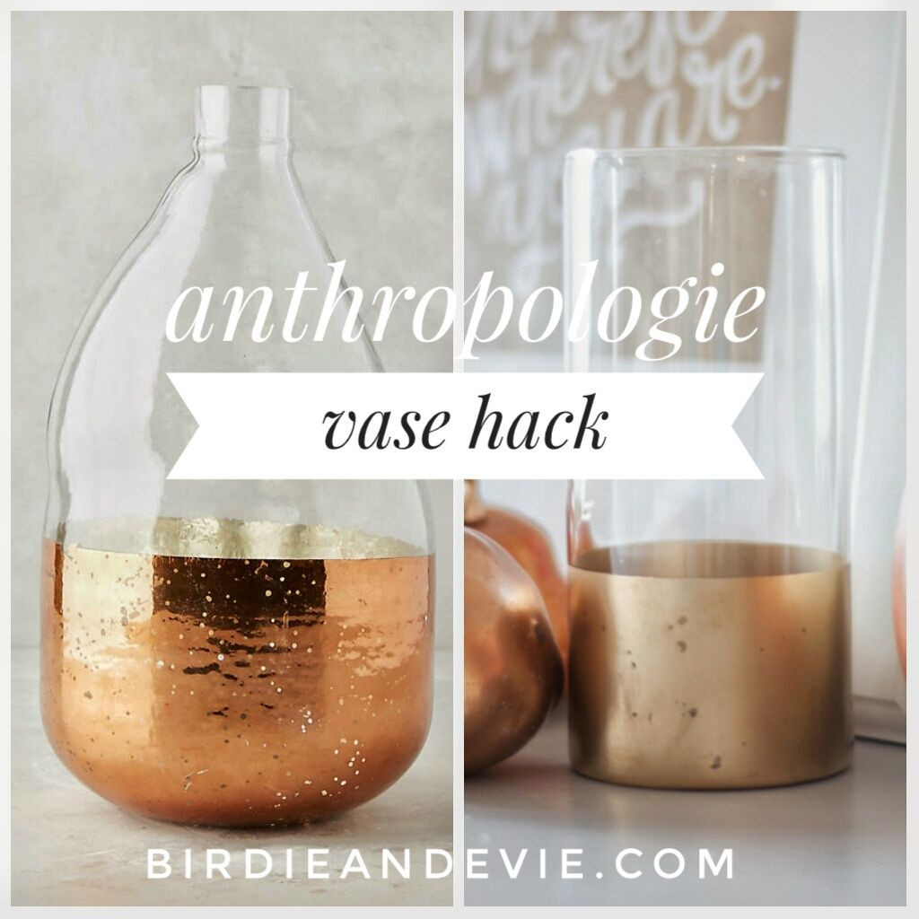 Milk Glass Vases wholesale Of Copper Anthropologie Vase Hack Easy and Cheap Hack to Bring In A Intended for Copper Anthropologie Vase Hack Easy and Cheap Hack to Bring In A Little Pop Of Metallic