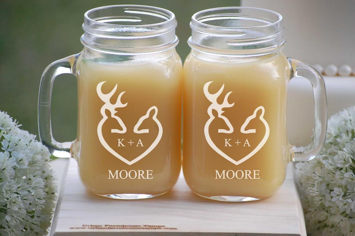 """milk vase wedding centerpiece of mason jar mugs woodland wedding decor his and hers mugs etsy with dŸ""""Žzoom"""