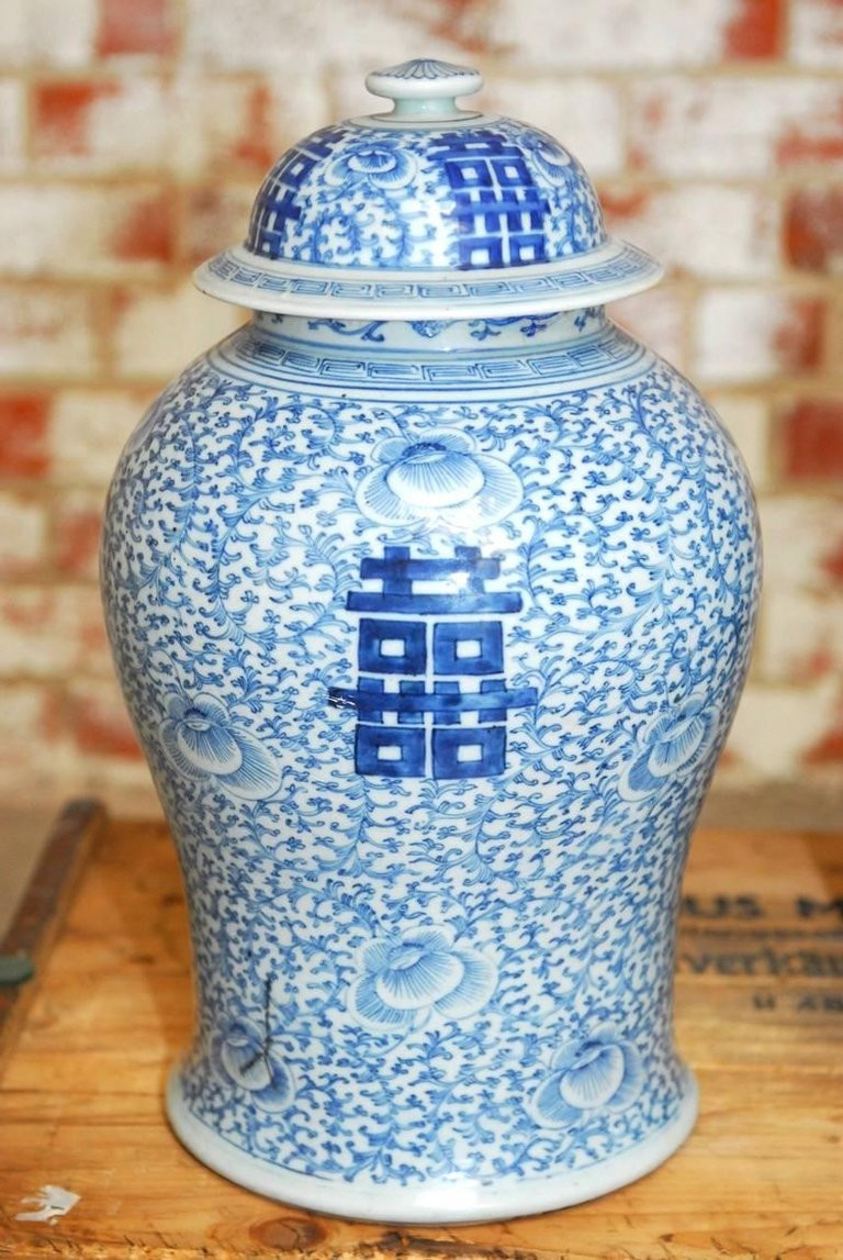ming dynasty blue and white vase of pair of chinese qing blue and white porcelain ginger jar vases intended for pair of chinese qing blue and white porcelain ginger jar vases
