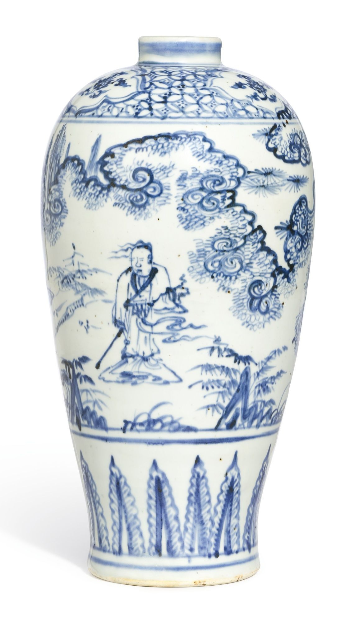 Ming Dynasty Vase for Sale Of Antique White Vase Gallery the Birds and the Bees Vintage Pottery with Regard to Antique White Vase Pics A Blue and White Figure Meiping Br Ming Dynasty 15th Century Of