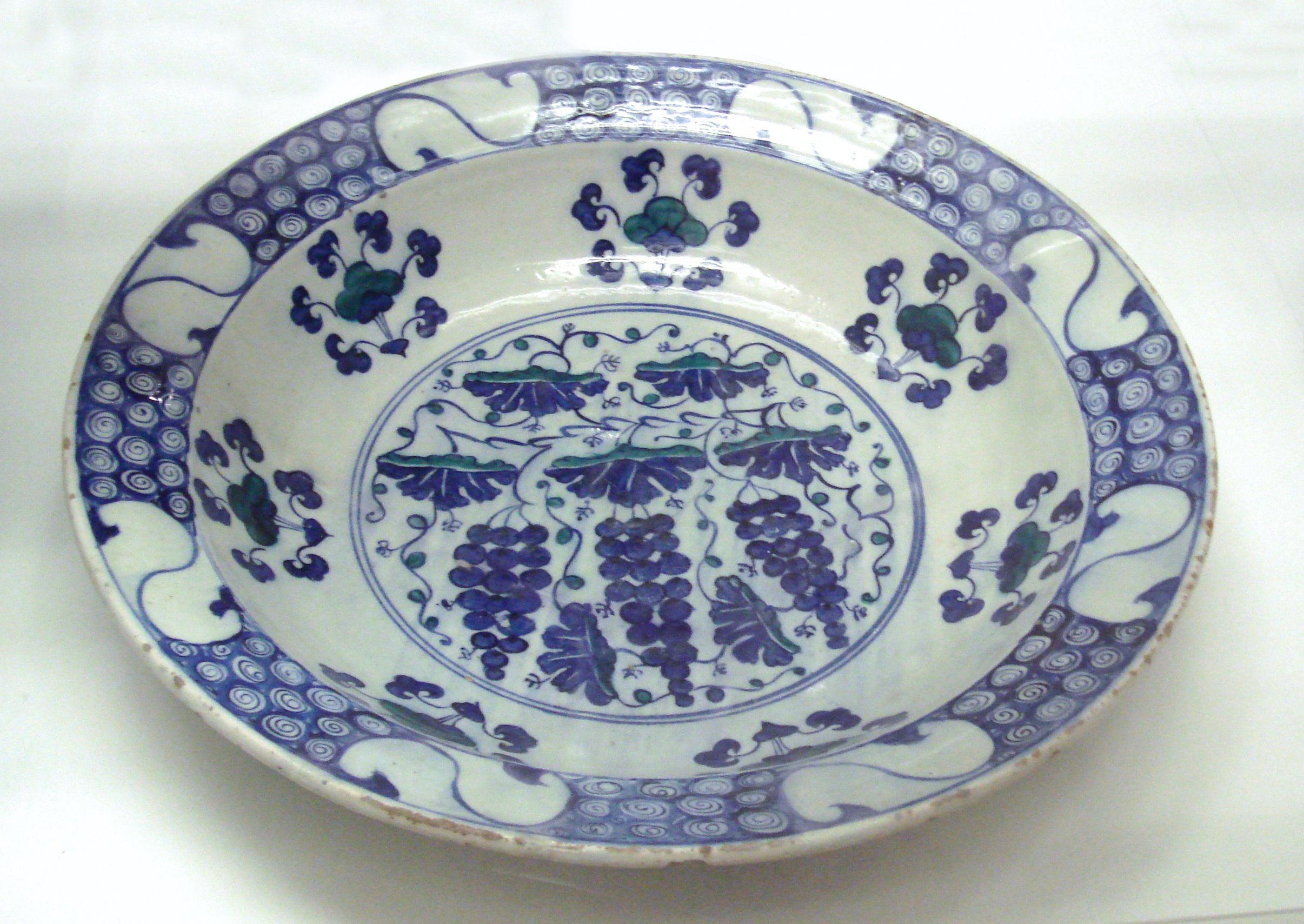 ming dynasty vase value of iznik pottery wikiwand with stone paste dish iznik turkey 1550 1570 jpg