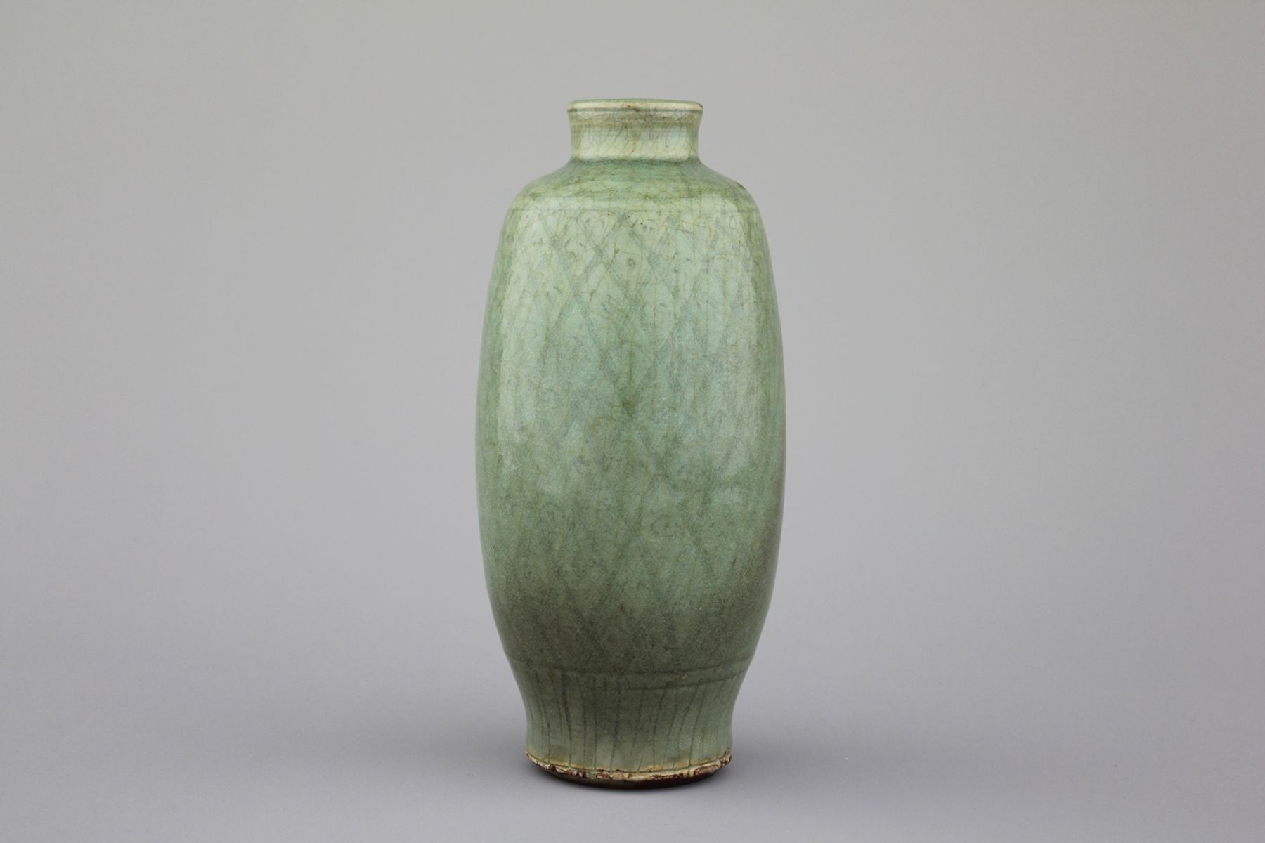 ming vase markings of a green glazed ming dynasty longquan vase monochrome chinese within a green glazed ming dynasty longquan vase