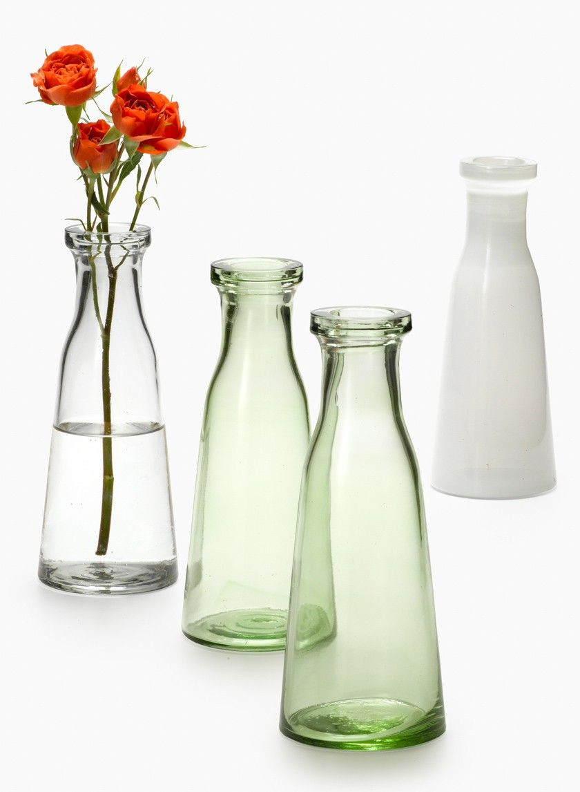 mini glass bud vases bulk of clear green white milk bottle vases pinterest milk bottles throughout 168 for 12 these thick glass bottle vases remind us of milk bottles they can hold a small bouquet or use them as a bud vase for a single flower stem
