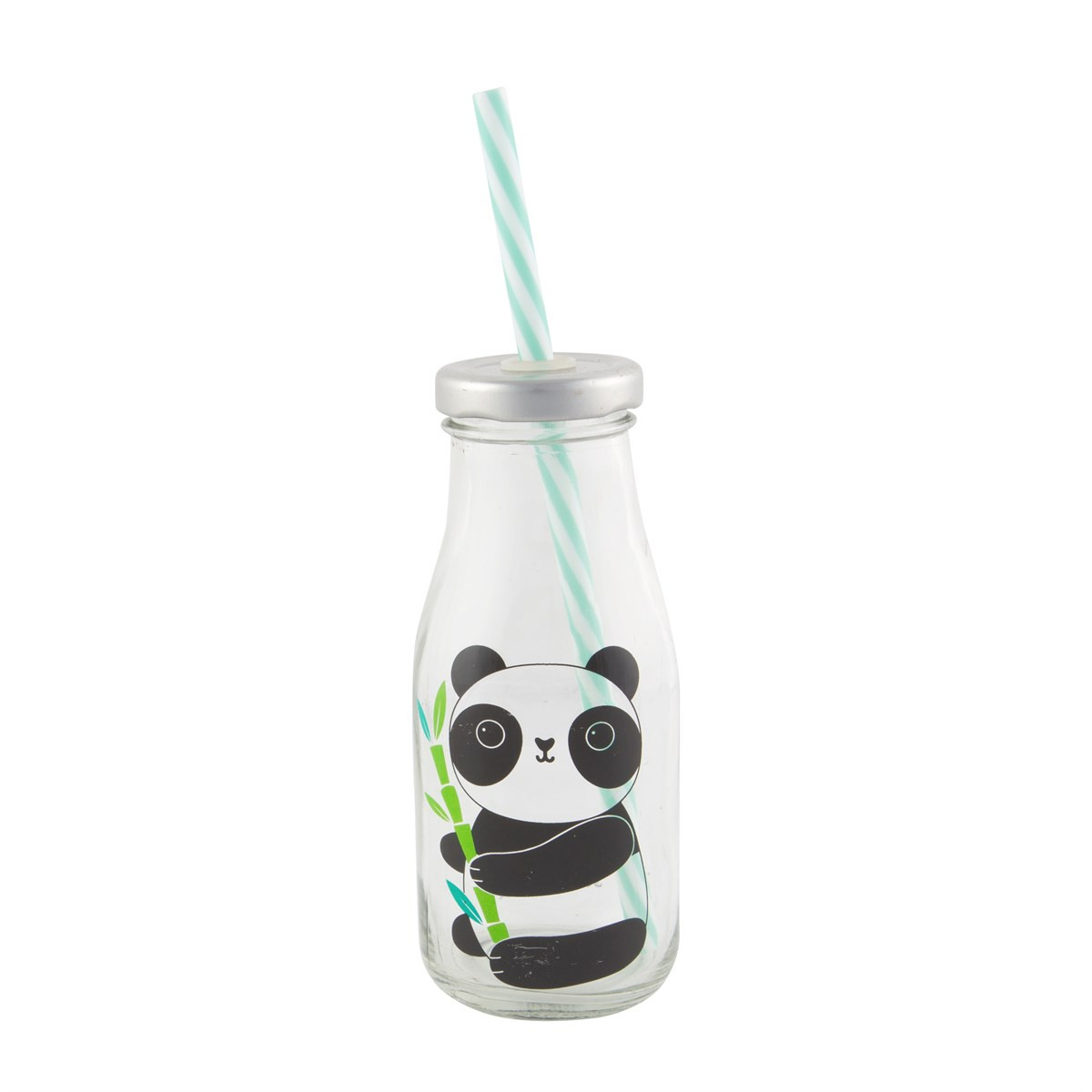 mini milk bottle vases of aiko panda mini milk bottle with straw within aiko panda mini milk bottle with straw default image