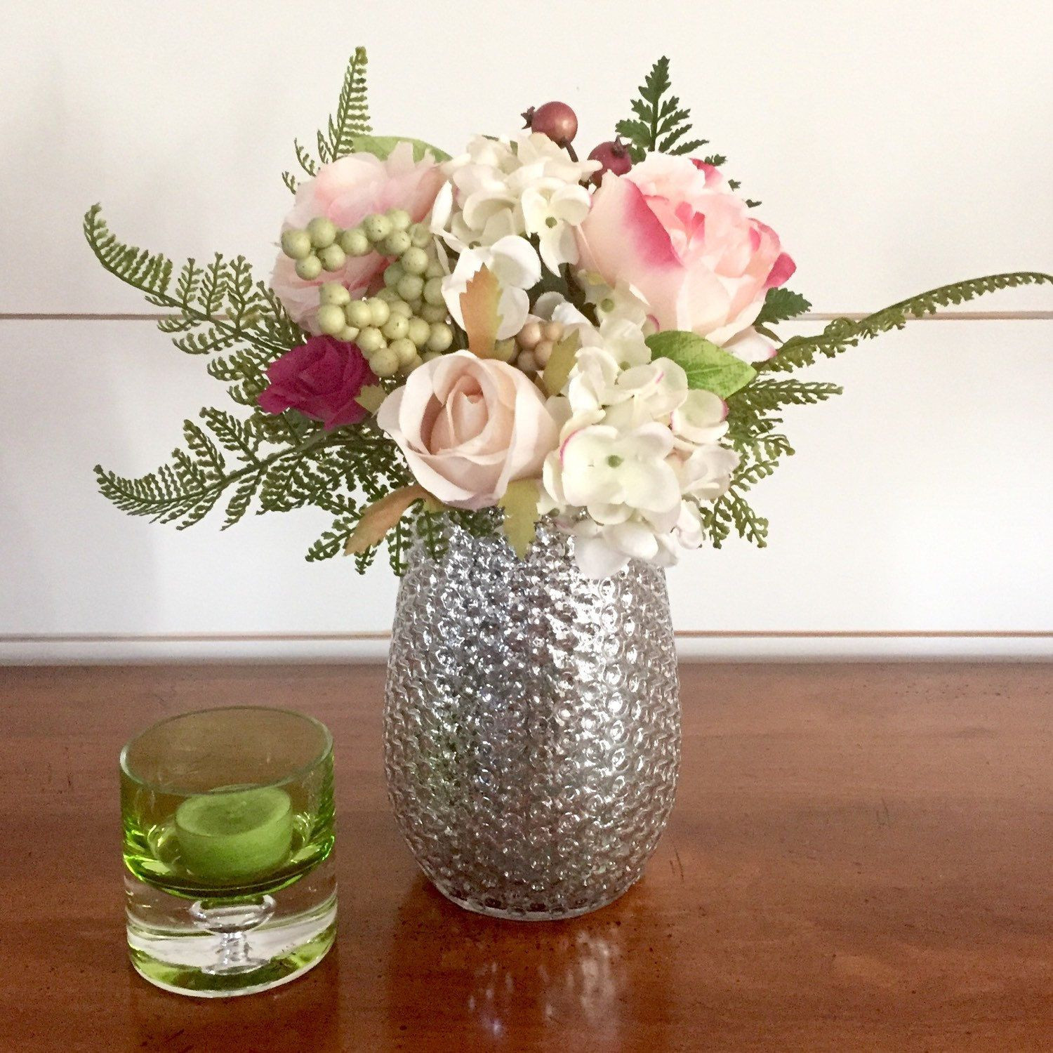 Mint Julep Cup Vases wholesale Of Lovely Vintage Hobnailed Mercury Glass Vase Spring Summer Floral In Lovely Vintage Hobnailed Mercury Glass Vase Spring Summer Floral Arrangement Centerpiece