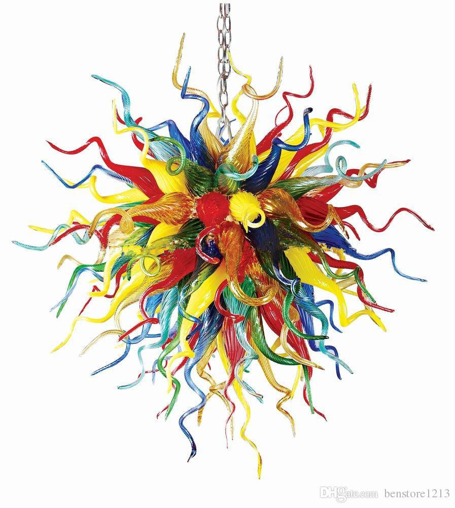 modern art glass vase of new arrival modern art decorative tiffany stained glass chandelier intended for made of 100 hand blown glass each glass stem measures between 10 20inches in length and is individually hung on a central metal frame