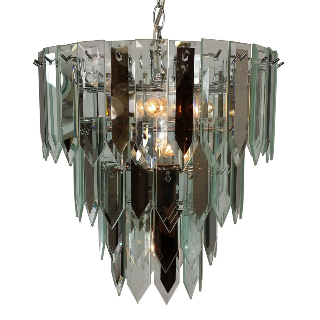 modern crystal vase of agha contemporary crystal chandelier agha interiors in image of triarch rscl 7 light multi tiered chandelier