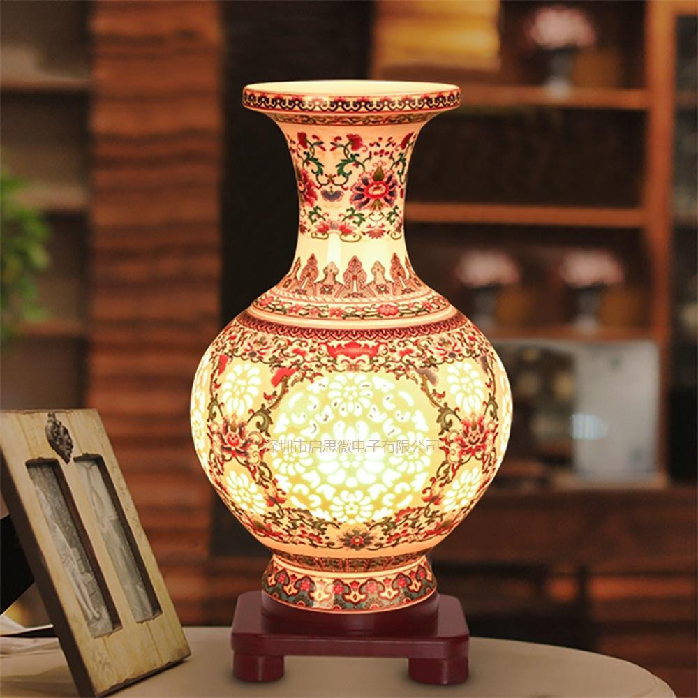 Modern Pottery Vases Of 2018 Modern Ceramic Vase Table Light E27 Ac110v 240v Us Plug Ceramic Intended for 2018 Modern Ceramic Vase Table Light E27 Ac110v 240v Us Plug Ceramic Lamp Bedroom Bedside Lampe Indoor Living Room Bedroom Lighting From Youerlamp