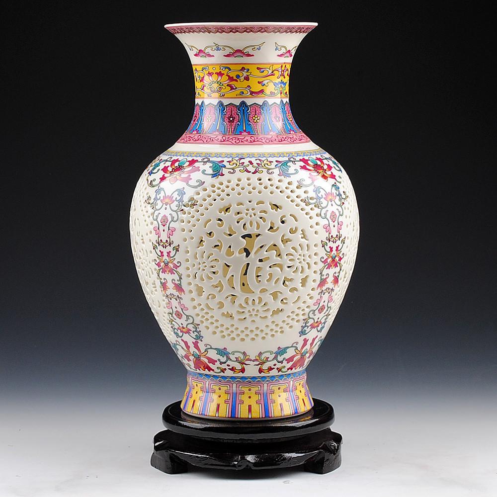 Modern White Ceramic Vase Of China Jingdezhen Vase Ceramics China Jingdezhen Vase Ceramics for Get Quotations A· Jingdezhen Ceramics Pastel Ivory Hollow Eggshell Vase Modern and Stylish Home Decorations ornaments Blessing