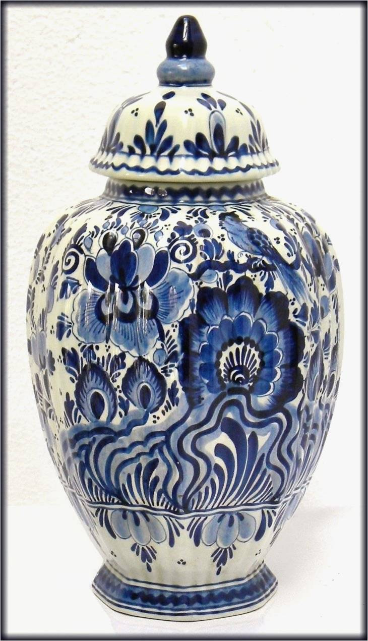 Modern White Ceramic Vase Of New Ideas On Blue White Vase for Best Home Interior Design or within Amazing Delft Blue Vintage Dutch Art Pottery with Cobalt Blue Bird and Floral Decoration