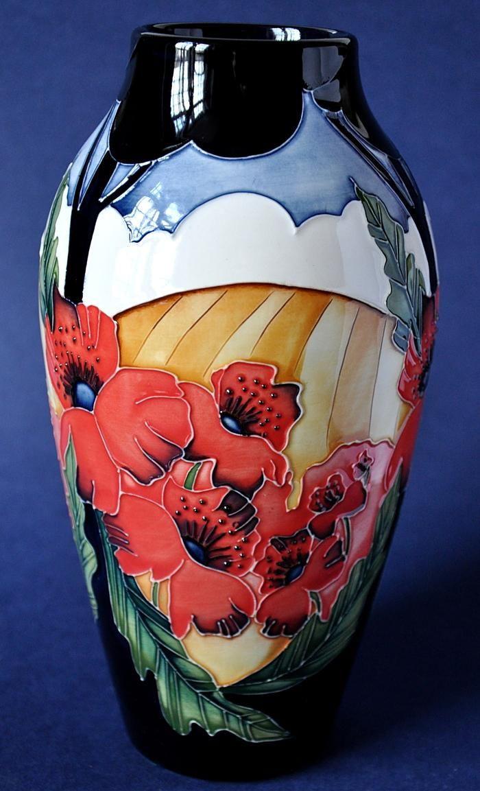 moorcroft sunflower vase of moorcroft pottery lake garda designer paul hilditch within 0db0f1bfc7a1f7f06205e0f1658bd720