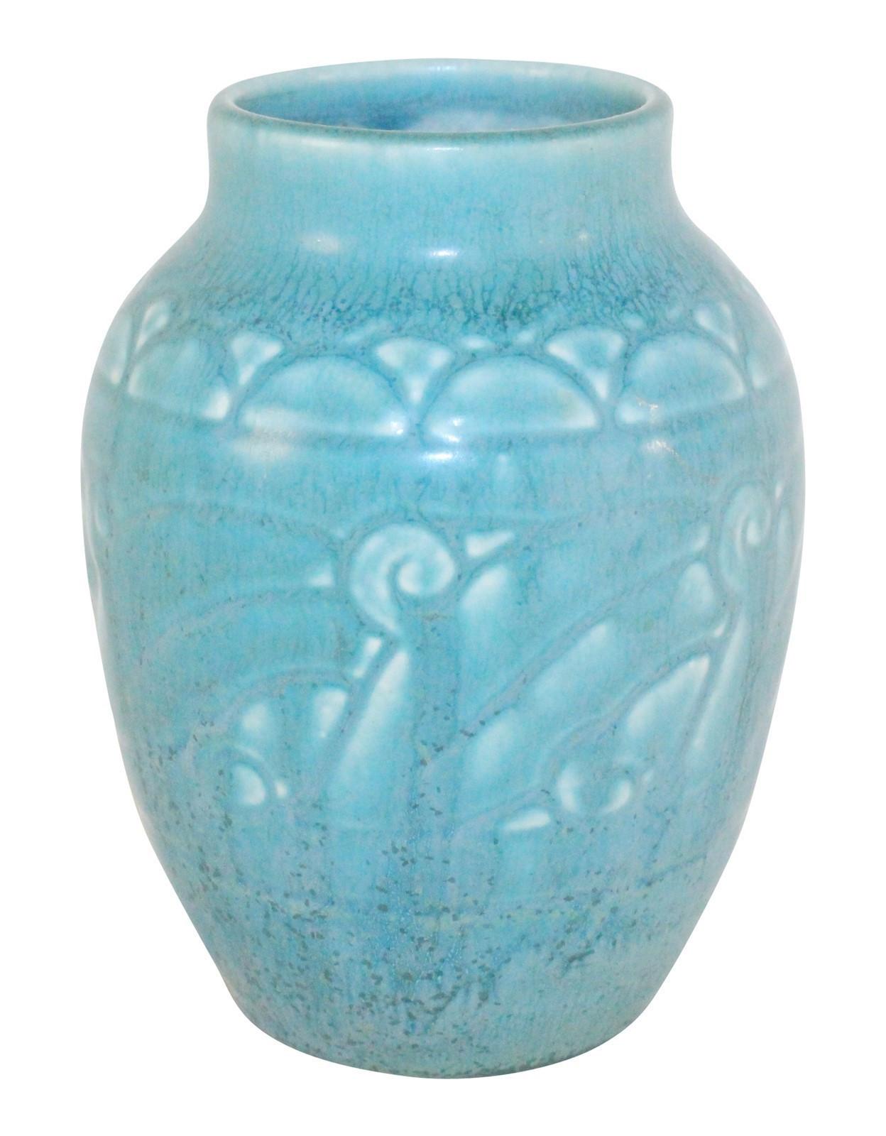 10 Lovely Moorcroft Sunflower Vase 2021 free download moorcroft sunflower vase of rookwood pottery 1926 matte blue art deco vase 2854 just art for rookwood pottery 1926 matte blue art deco vase 2854
