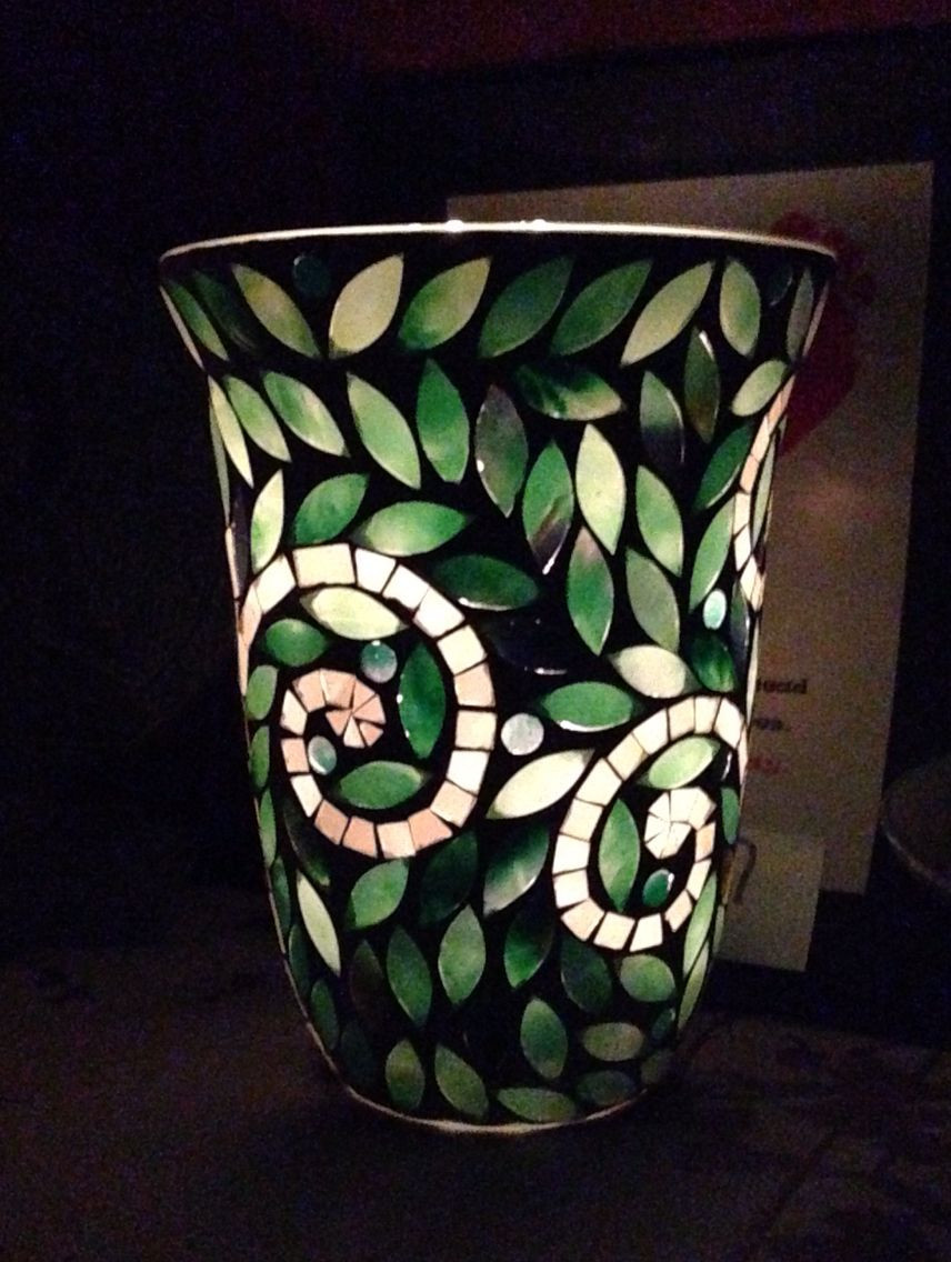 mosaic glass vases for sale of vine mosaic hurricane by partylite love it diy and crafts for vine mosaic hurricane by partylite love it