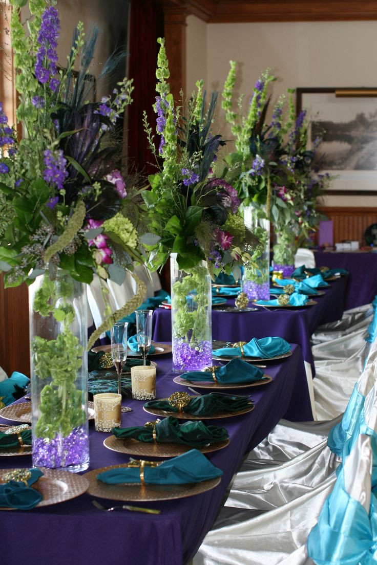 Moss Vase Filler Of 17 Best Images About Tall Glass Vase On Pinterest Floral within Purple Green Centerpieces for Wedding Reception