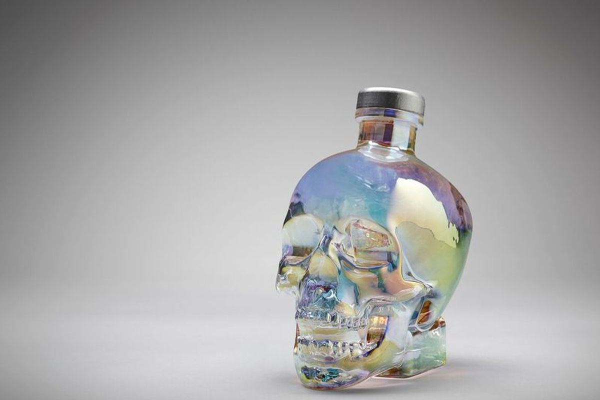 most expensive crystal vases of strange beautiful and truly unique booze bottles eater inside crystal head aurora crystal head