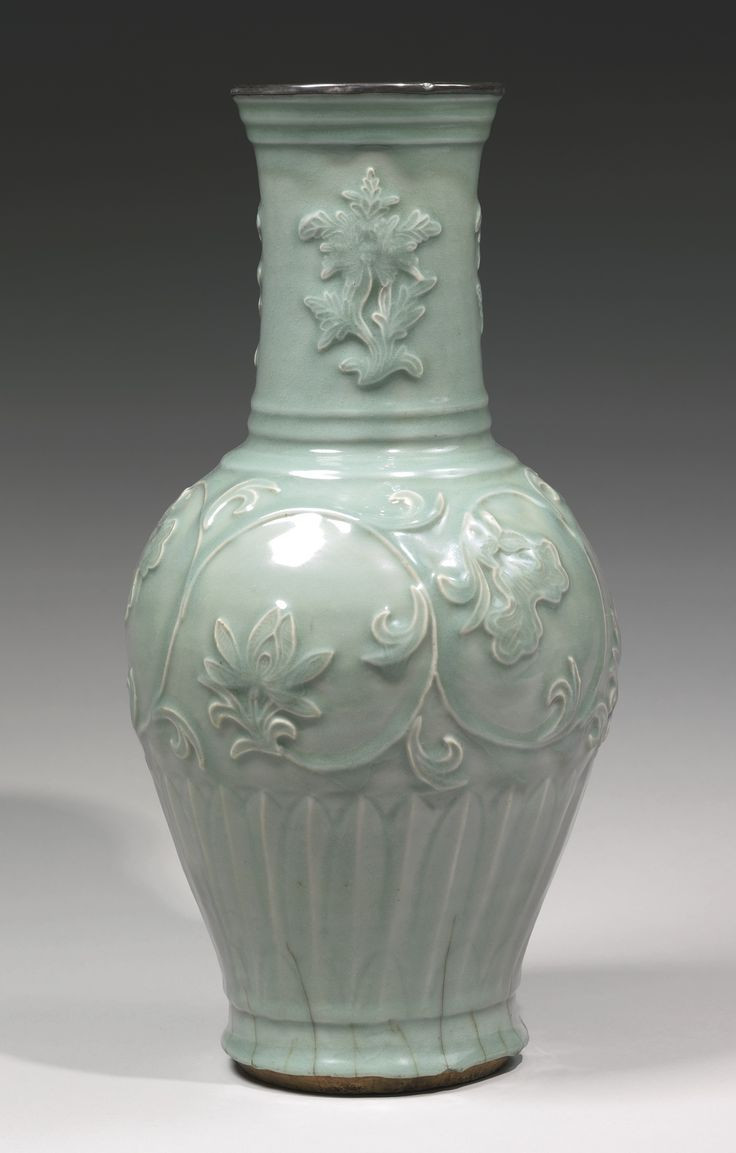 mottahedeh tobacco leaf vase of 17 best home accessories images on pinterest blue prints china with a rare molded longquan celadon vase yuan dynasty sothebys robustly potted of large baluster shape with an ovoid body rising to