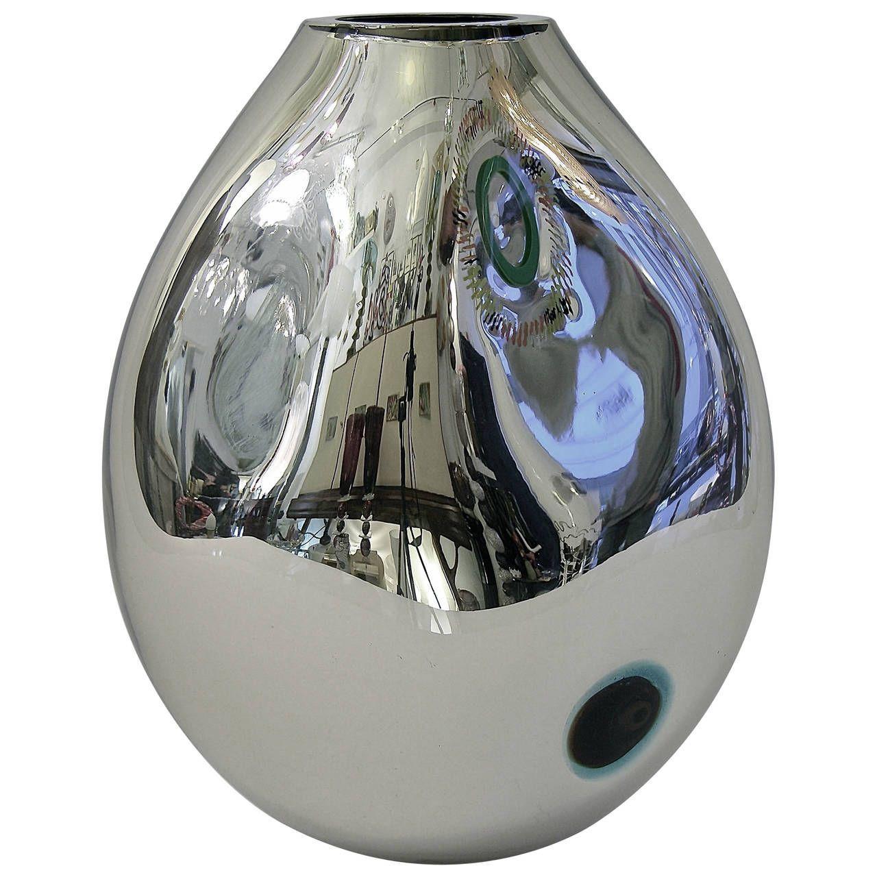 murano blown glass vase of 18 best of murano glass vase bogekompresorturkiye com with regard to contemporary design exclusive silver mirrored murano glass vase by davide dona