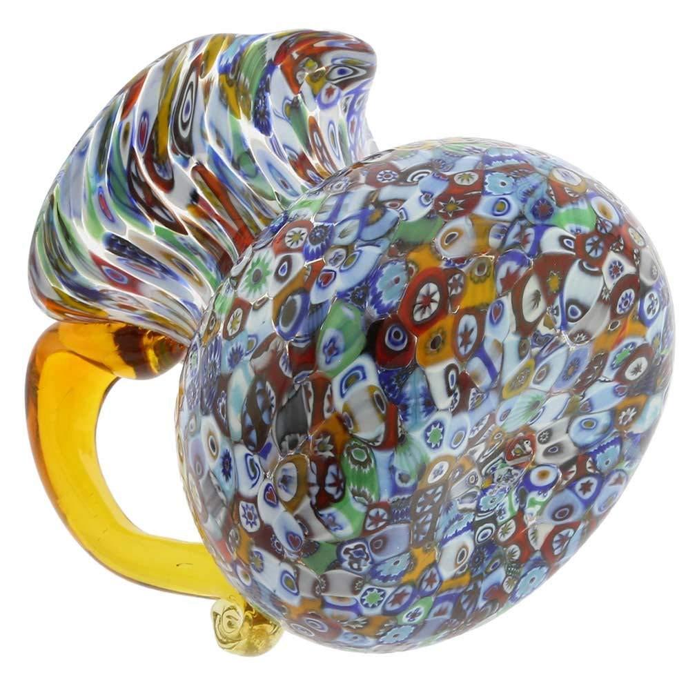murano glass vases for sale of amazon com glassofvenice murano glass millefiori pitcher or carafe in amazon com glassofvenice murano glass millefiori pitcher or carafe home kitchen