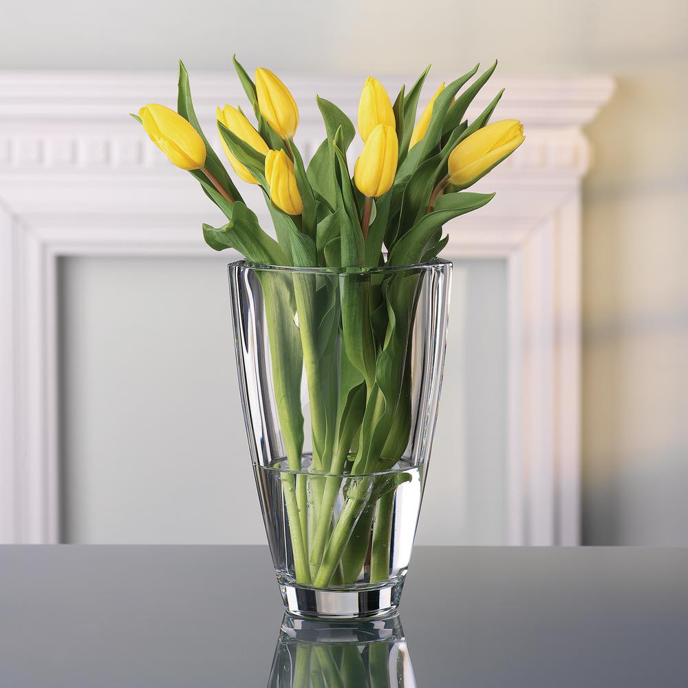 nachtmann art deco vase of nachtmann carre 9 in decorative vase 83736 the home depot within nachtmann carre 9 in decorative vase