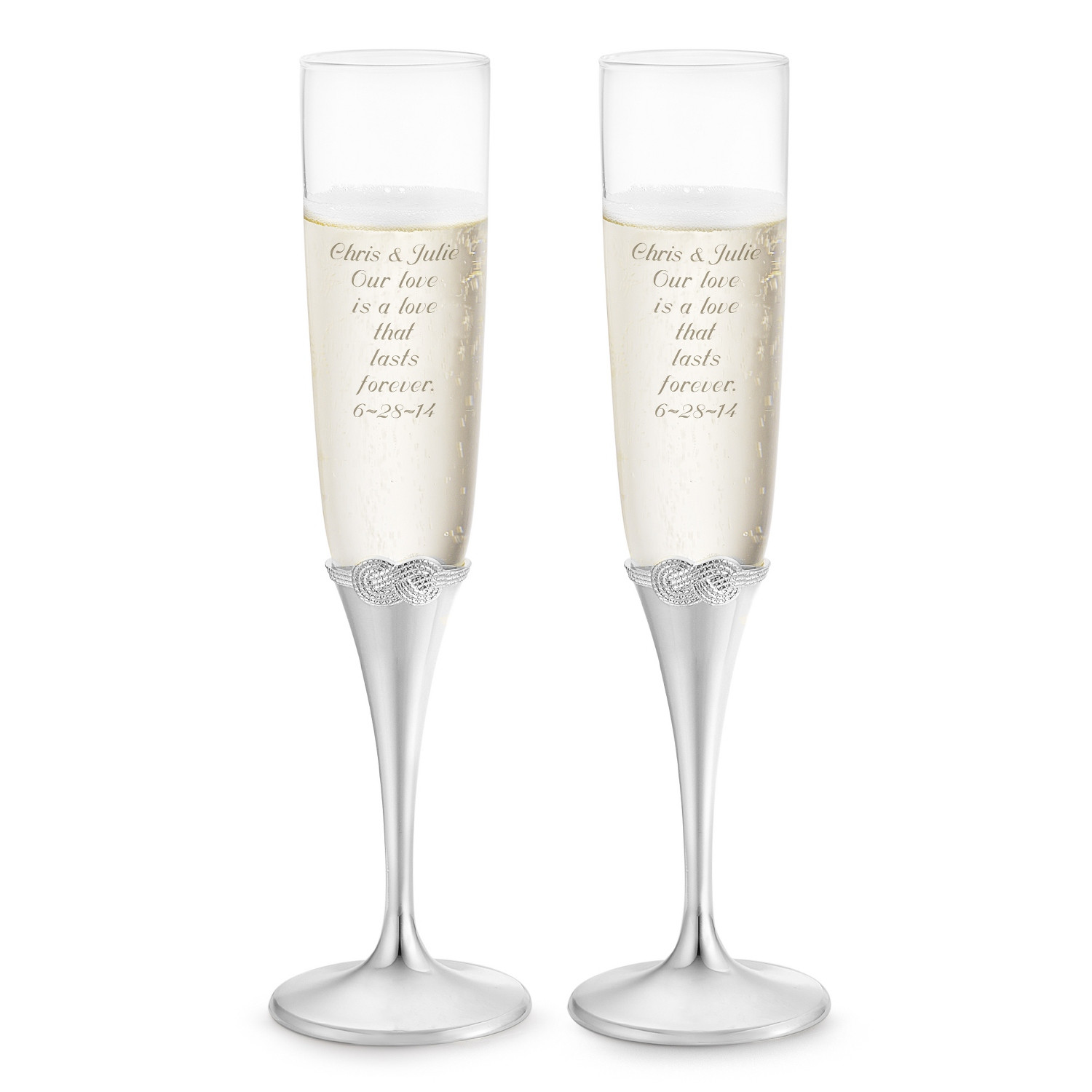 nambe infinity vase of personalized vera wang by wedgwood infinity toasting flutes in vera wang by wedgwood infinity toasting flutes