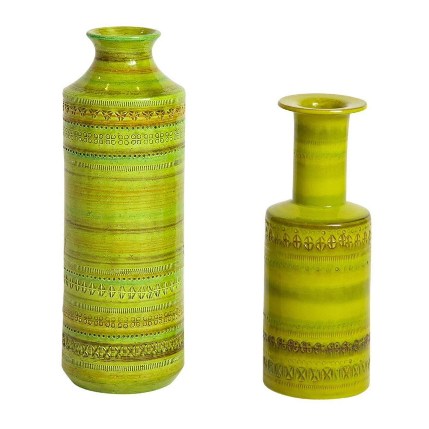 narrow neck glass vase of bitossi ceramic vase rosenthal netter chartreuse signed italy 1960s intended for bitossi ceramic vase rosenthal netter chartreuse signed italy 1960s for sale at 1stdibs