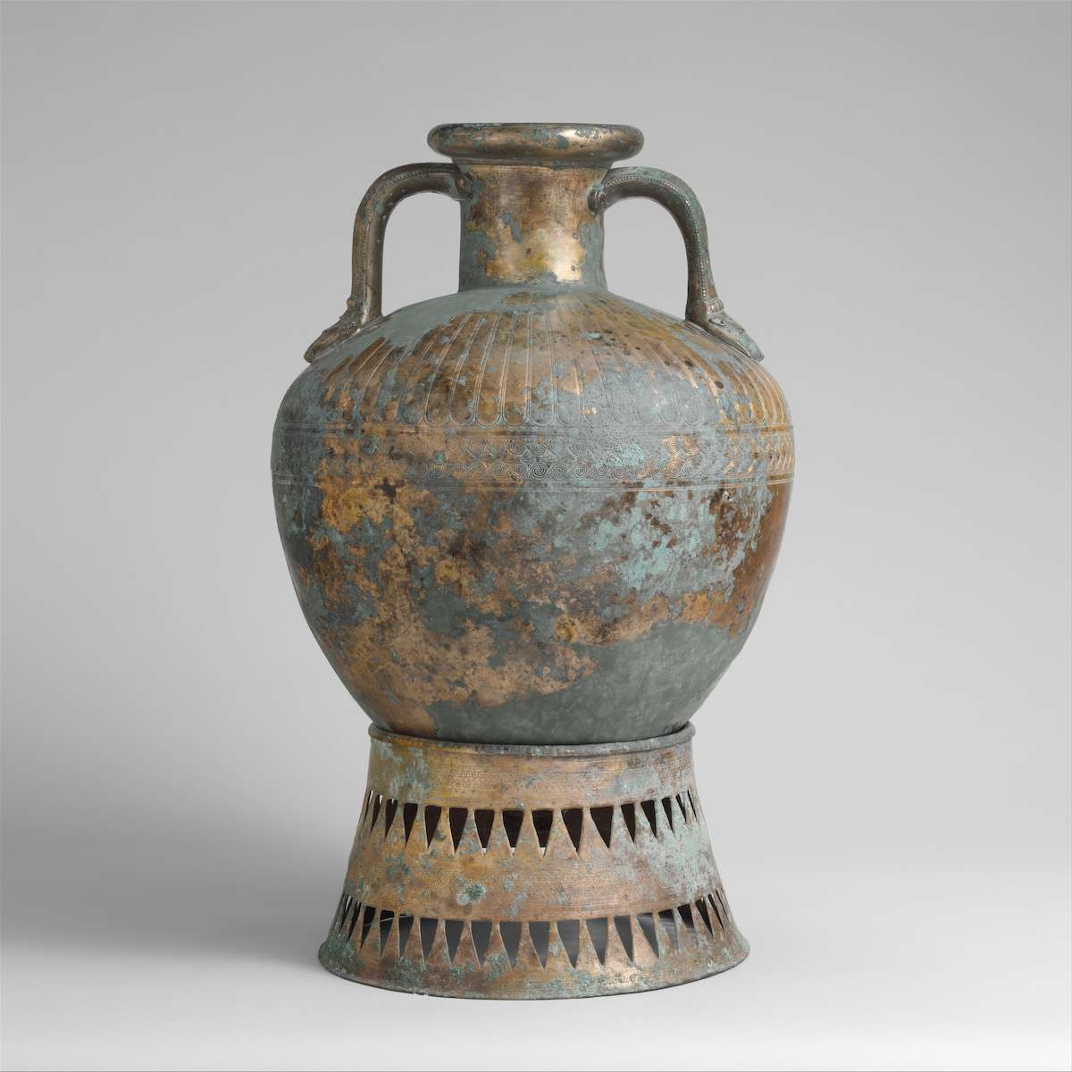 native american pottery wedding vase of toward the derveni krater artistry in bronze with fig 26 03 gaunt