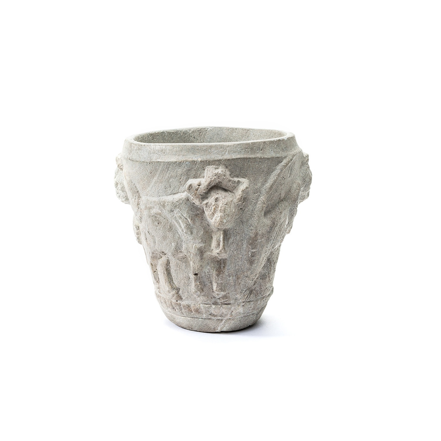 natural stone vase of sumerian ritual vase david aaron for further images sumerian ritual vase