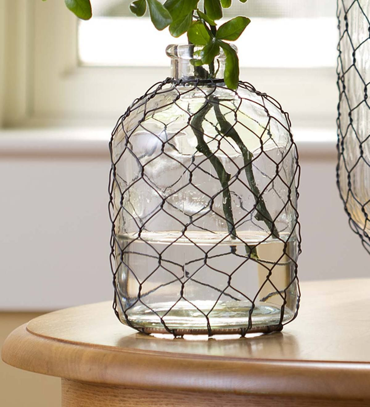 nautical glass vases of our small chicken wire glass vase is an updated take on a vintage inside our small chicken wire glass vase is an updated take on a vintage design classic
