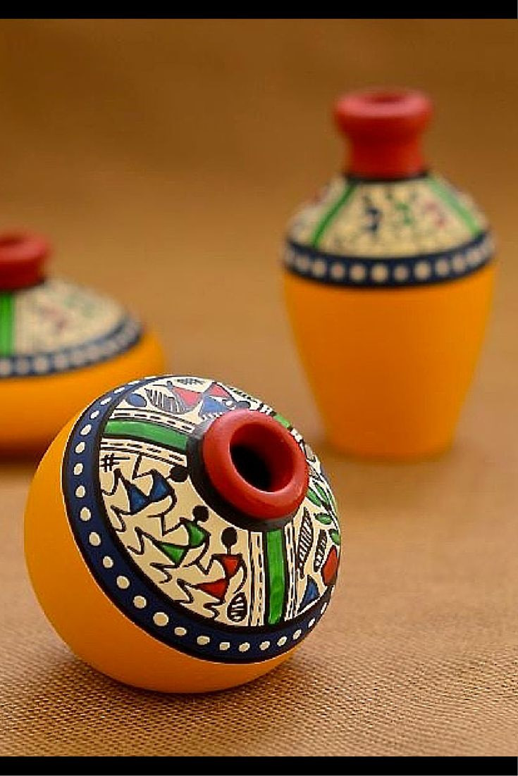 navajo horsehair pottery wedding vase of 100 best pottery images by siddhi machina on pinterest ceramic inside warli painted miniature pot from www unravelindia in