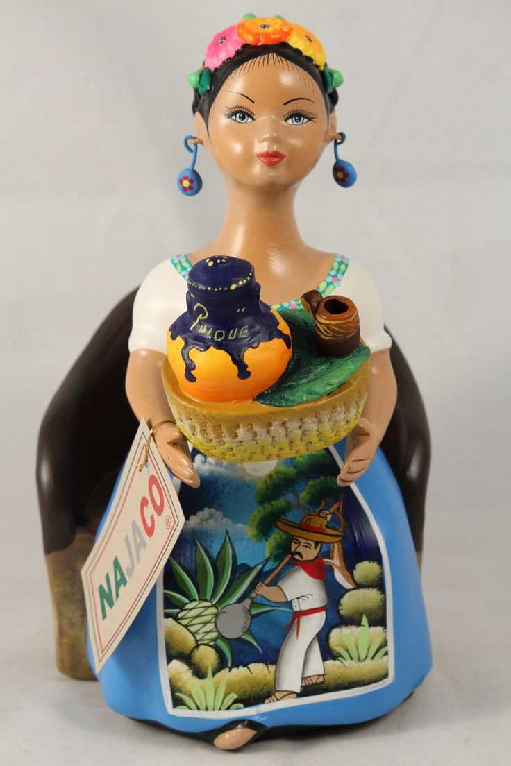 navajo horsehair pottery wedding vase of 49 best folk art painting images on pinterest wood paintings within quinceaa±era mexican ceramic figurine with a rose colored dress