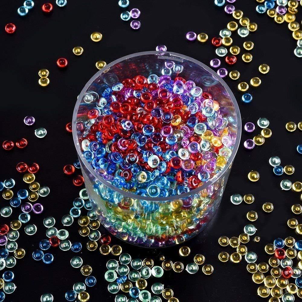navy blue vase filler of 10 pack colorful fishbowl beads for crunchy slime vase filler beads regarding 10 pack colorful fishbowl beads for crunchy slime vase filler beads fish bowl beads beads for slime making art diy craft amazon ca home kitchen