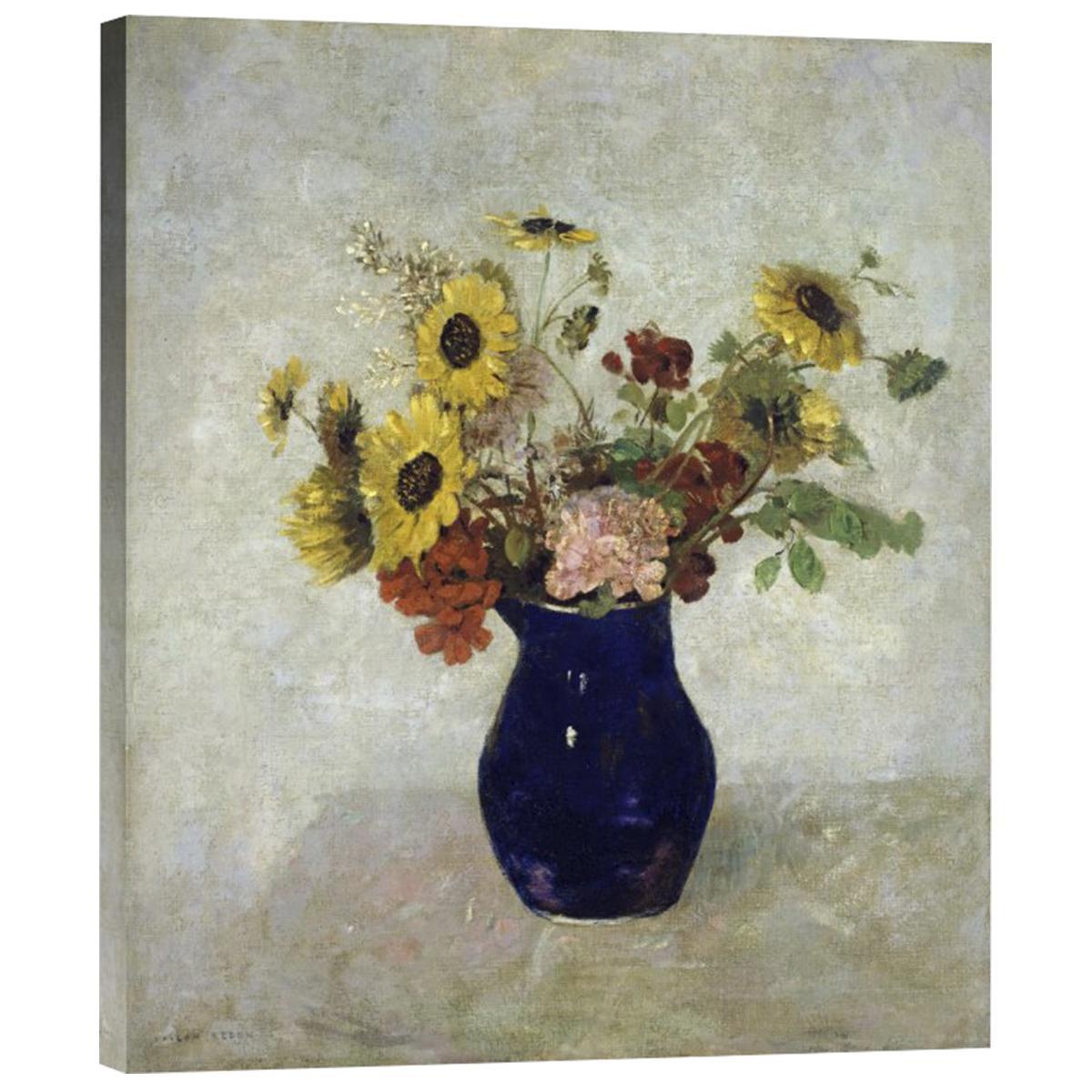odilon redon vase of flowers of global gallery 22 x 19 vase de fleurs by odilon redon nebraska with regard to 22 x 19 vase de fleurs by odilon redon