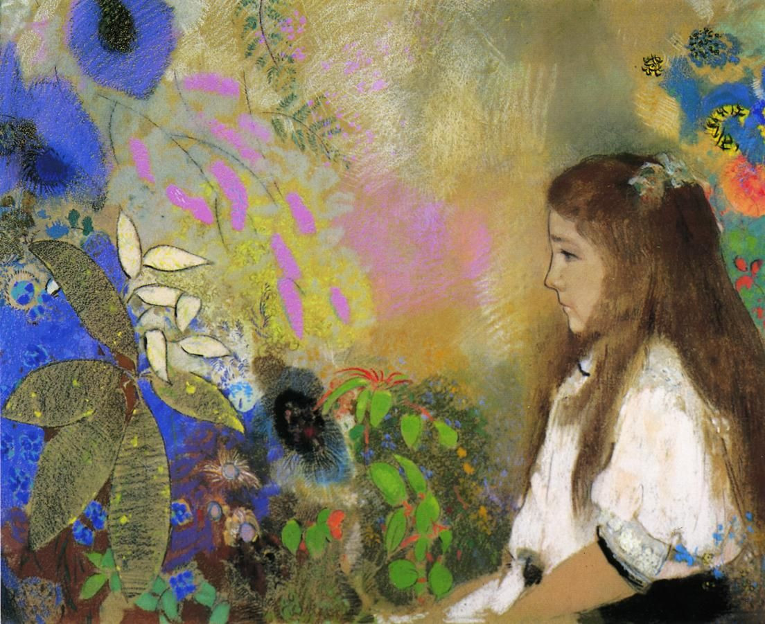 odilon redon vase of flowers of pikby social media analytics statistics tools intended for portrait of yseult fayet painting odilon redon oil paintings