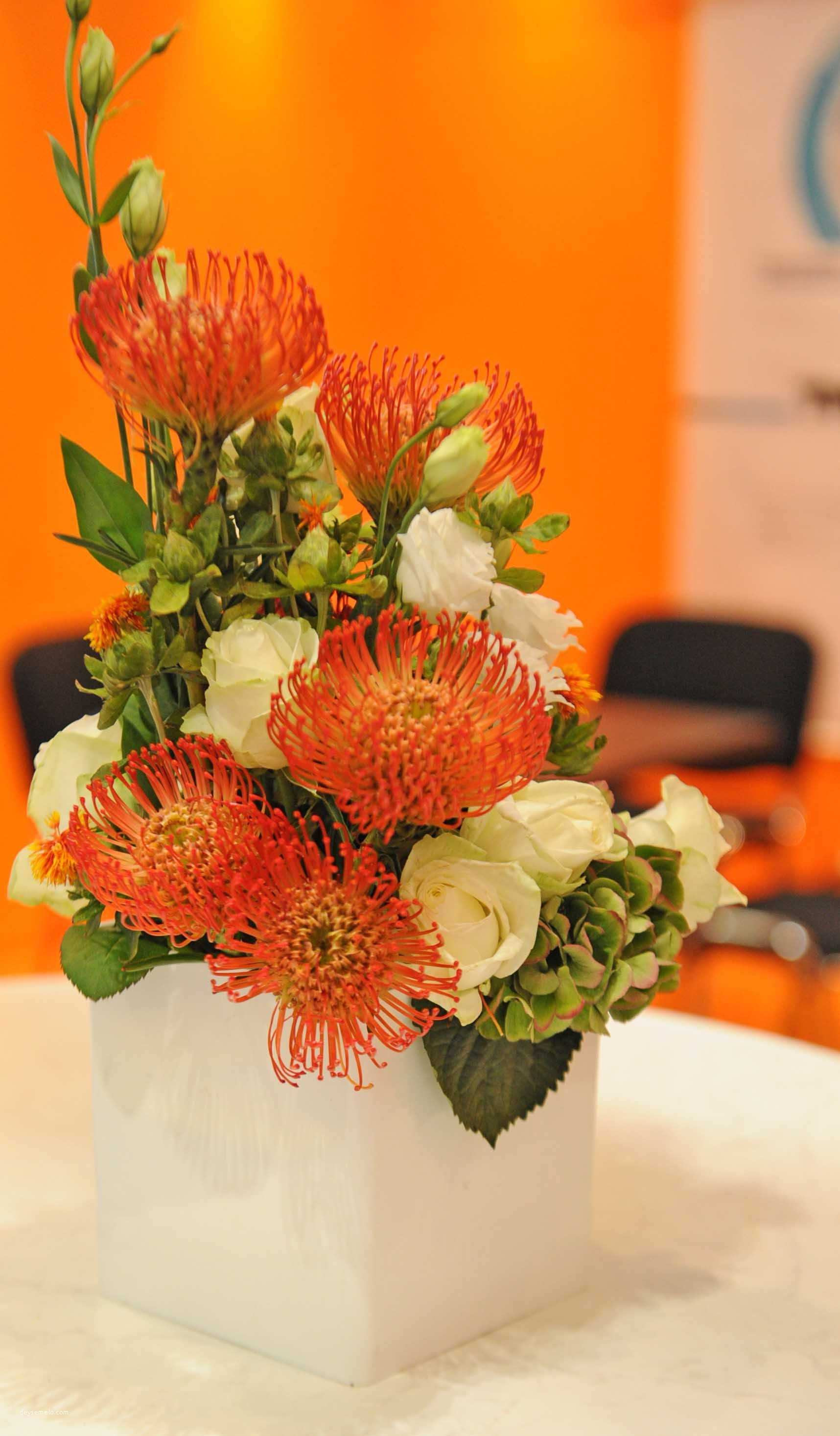 orange bud vase of luxury artificial flower bouquet from dried wedding flowers h vases in traditional artificial flower bouquet from 45 od orange pin with white lisianthus floral designs