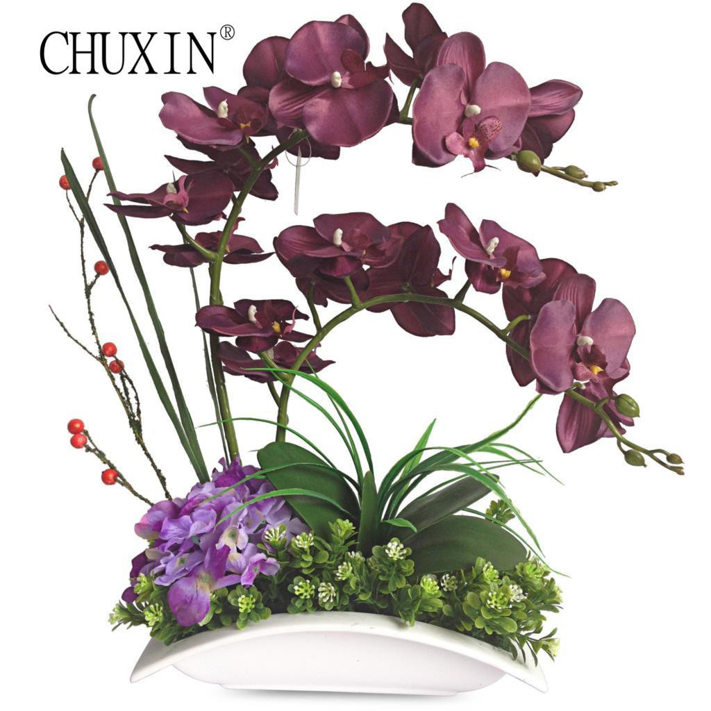 16 Fashionable orchid Vase 2021 free download orchid vase of 2018 europe simple style artificial orchid flower with ceramics vase within 2018 europe simple style artificial orchid flower with ceramics vase set silk butterfly orchid plan