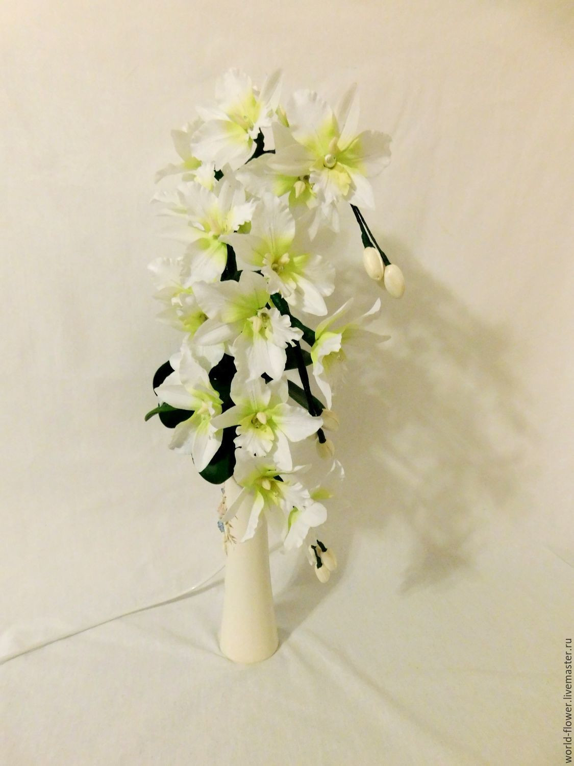 Orchid with Vase Of Bouquet Lamp White orchid 3 Twigs Vase Swan Shop Online On Throughout Bouquet Lamp White orchid 3 Twigs Vase Swan