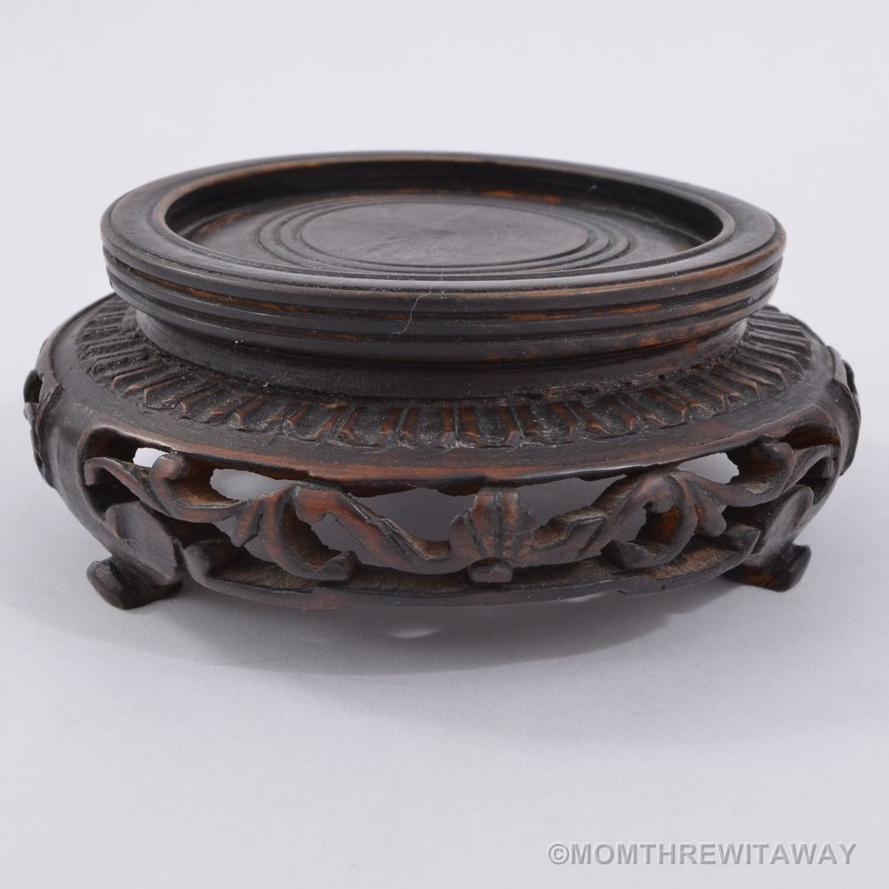 oriental vase stand of old finely carved wooden chinese display stand openwork for bowl with regard to old finely carved wooden chinese display stand openwork for bowl vase censer