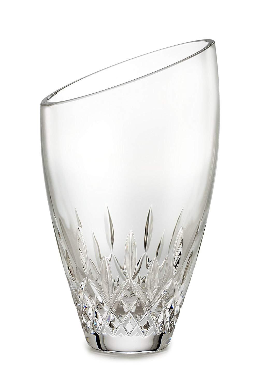 orrefors crystal bud vase of amazon com waterford crystal lismore essence 9 inch angular vase inside amazon com waterford crystal lismore essence 9 inch angular vase home kitchen