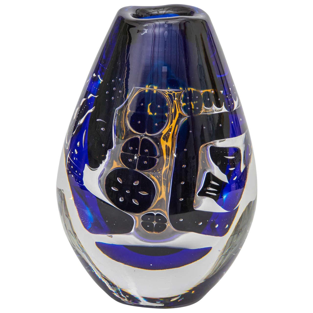 orrefors crystal bud vase of small orrefors vase bowl for sale at 1stdibs for orrefors vase modern orrefors circular glass bowl
