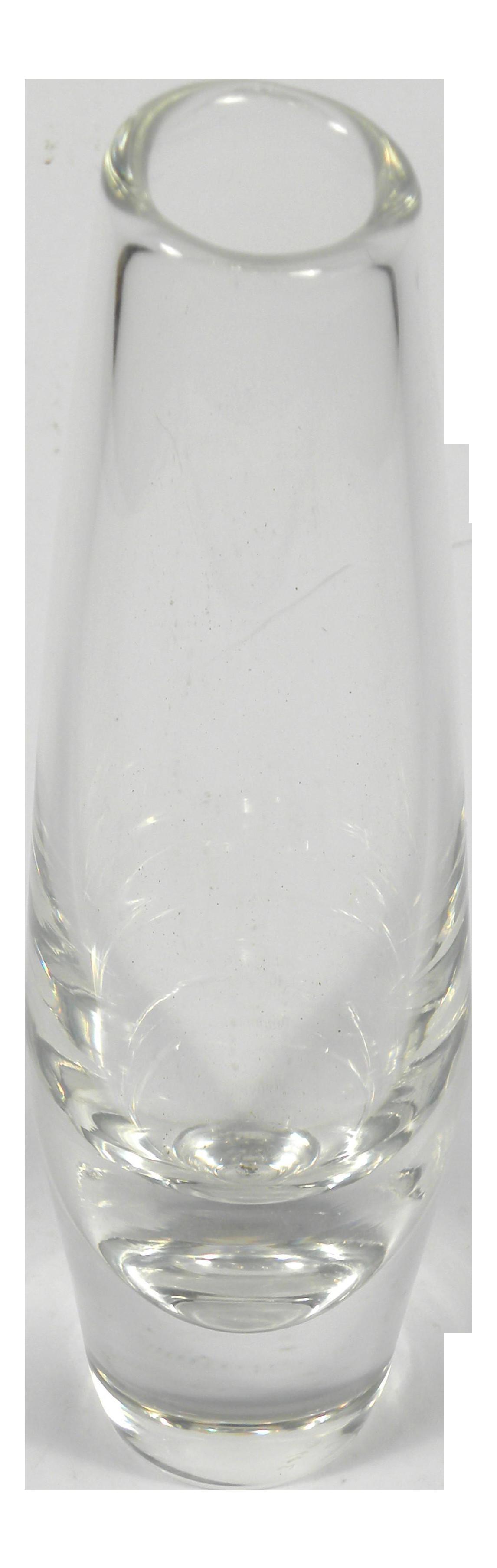 12 Nice orrefors Crystal Bud Vase