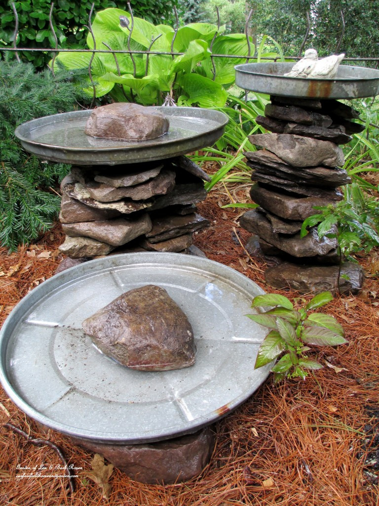 outdoor water feature vase of 20 lovely diy bird bath ideas to attract birds to yard the self within deformed stones bird bath