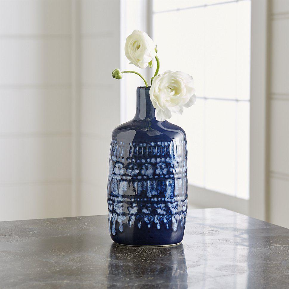 Oversized Glass Vase Of Adalynn Vase Cobalt Blue Cobalt and Glaze Pertaining to Adalynn Vase