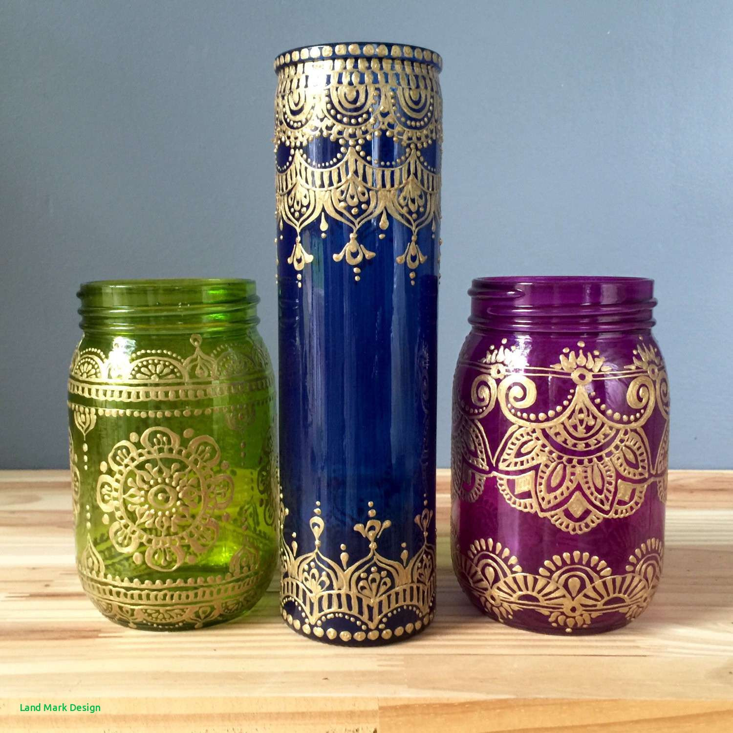 painting glass vases of bohemian design style design home design for vases designs for henna style cobalt blue glass bud with bohemian designsi 0d