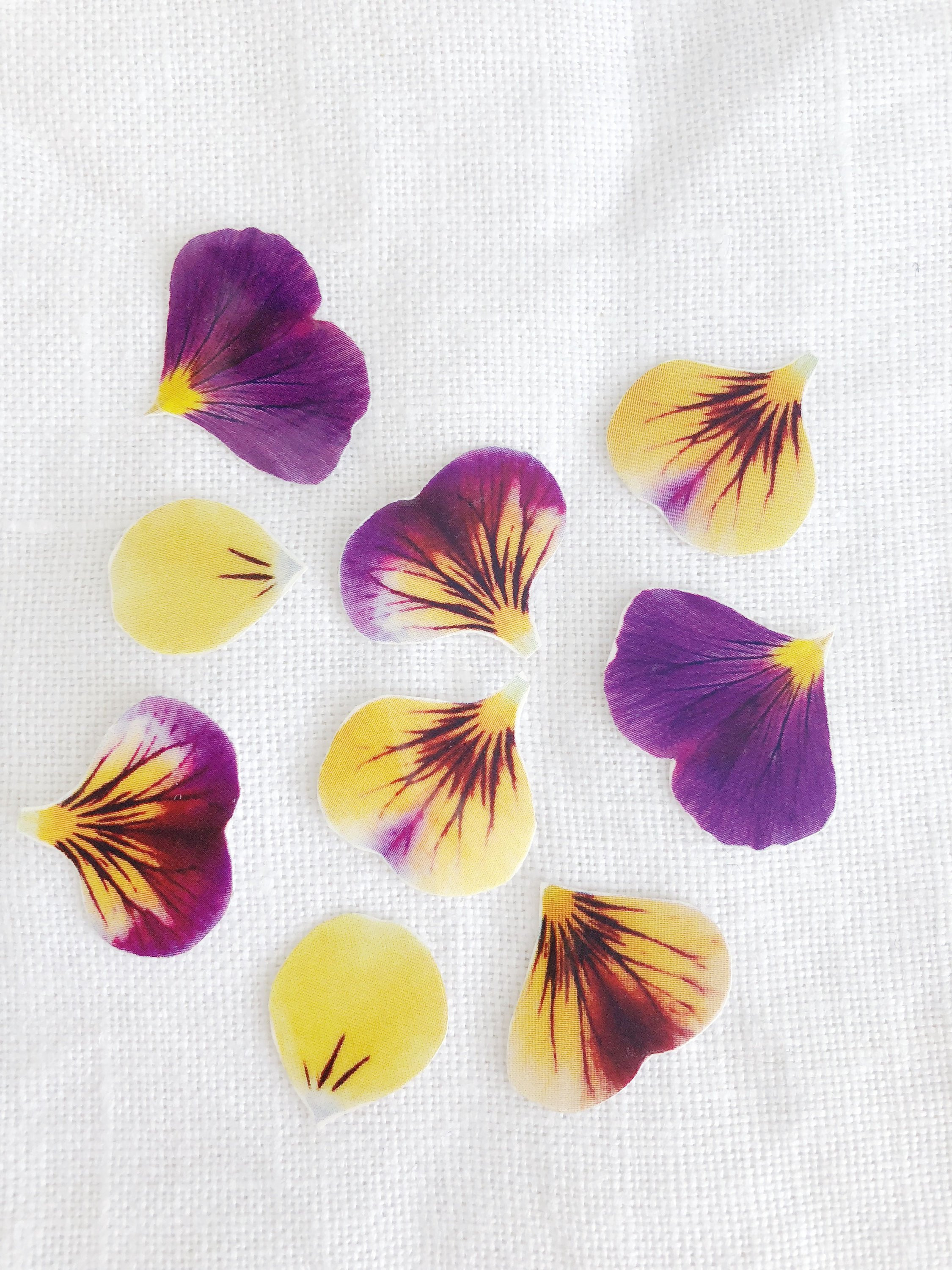 """pansy flower ring vase of yellow flower petal temporary tattoo pack etsy in dŸ""""Žzoom"""