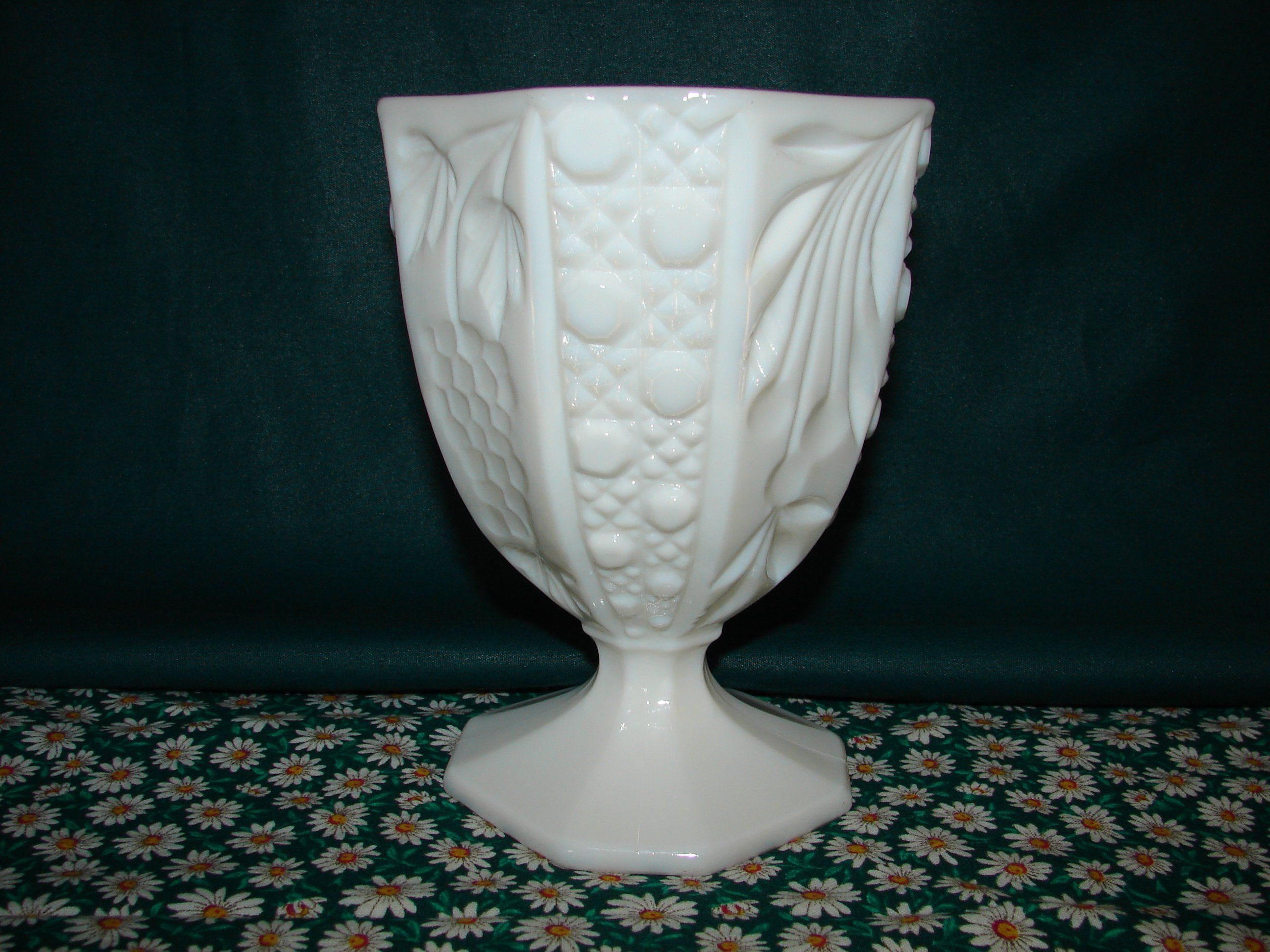 pedestal flower vase of candy dish paneled compote pedestal vase footed milk glass vase intended for candy dish paneled compote pedestal vase footed milk glass vase french cottage