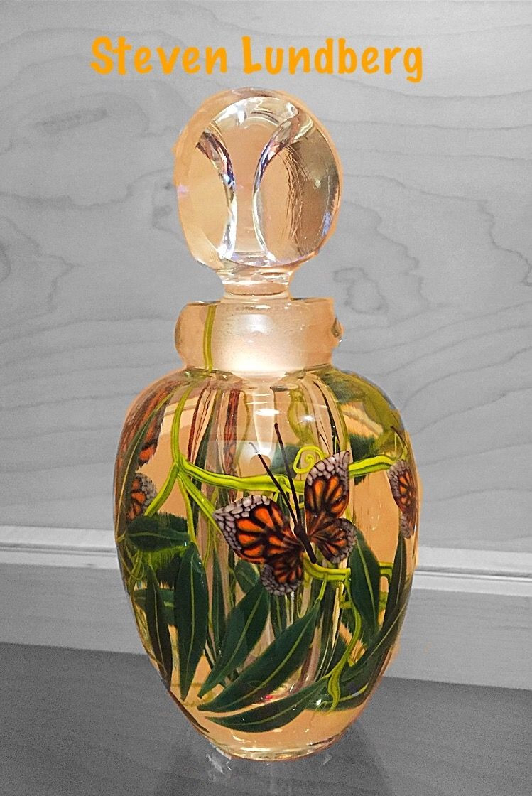 perfume bottle vase of steven lundberg monarch butterfly perfume bottle my american with regard to steven lundberg monarch butterfly perfume bottle