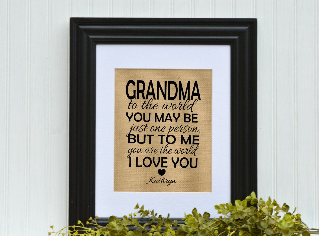 personalised grave vase of grandmother gift unique gift idea grandma birthday gift inside framed burlap gift grandmother gift unique gift idea grandma birthday gift grandmother birthday gift gift ideas for grandmother by blessedhomesteadshop
