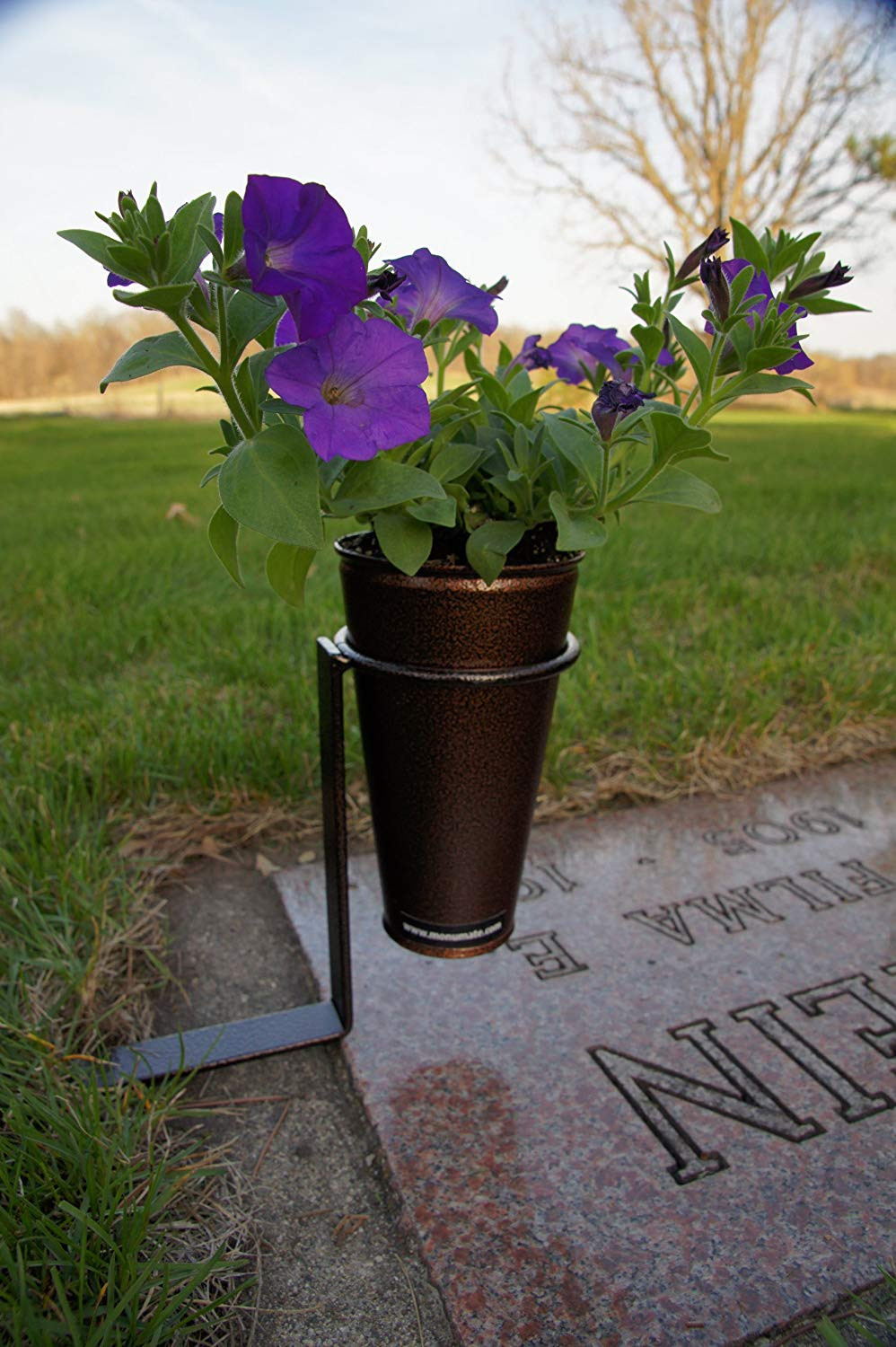 personalised grave vase of stay in the vase cemetery flowers inside 81duqigkvil sl1500