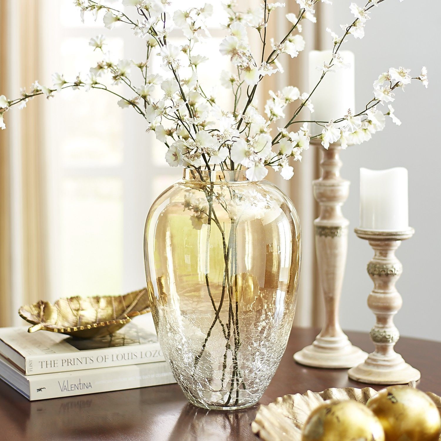 Pier 1 Glass Vase Of Gold Luster Crackle Glass Vases Pier 1 Imports Family Rooms In Gold Luster Crackle Glass Vases Pier 1 Imports