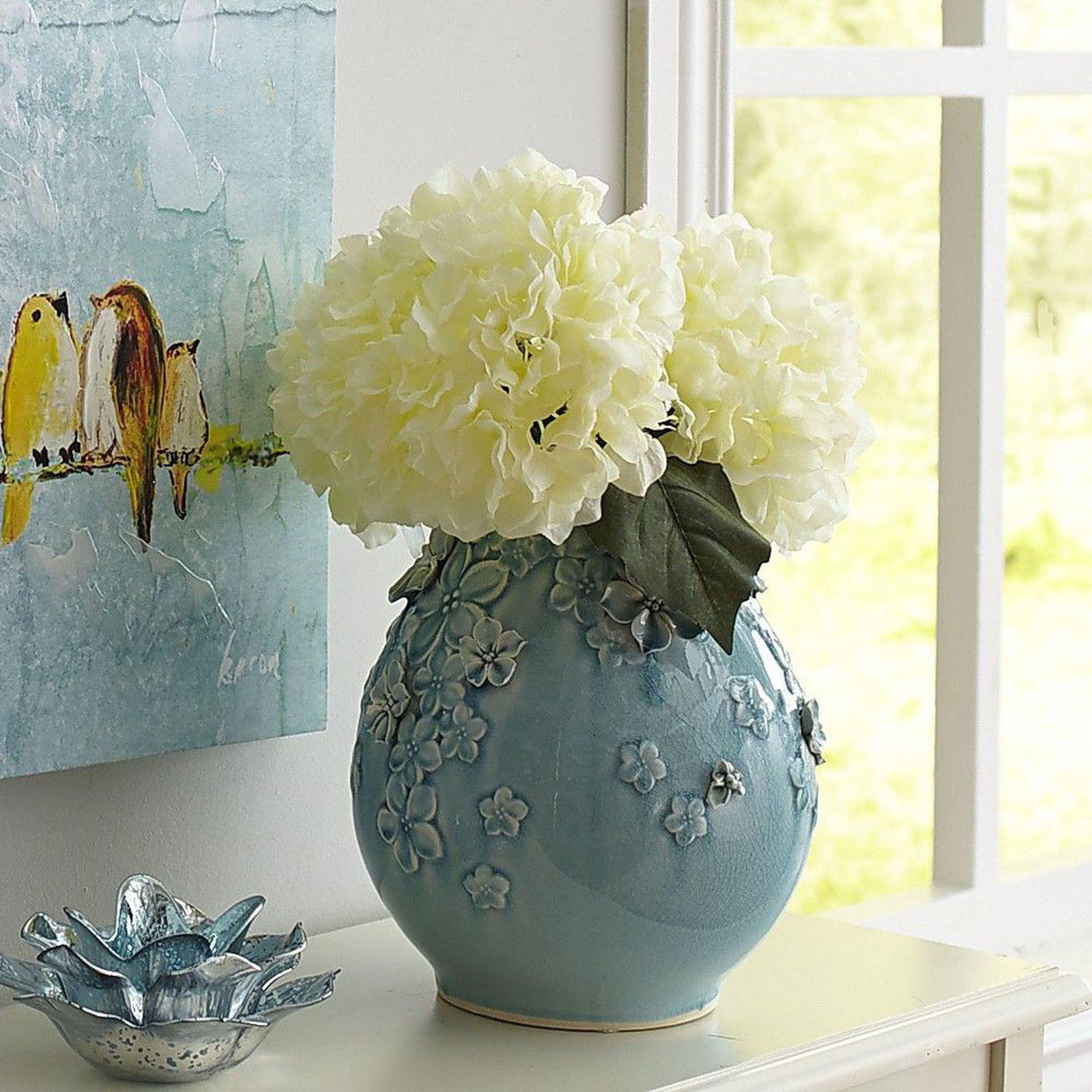 pier one glass vases of blossoms aqua ceramic vase faux flowers ceramic vase and aqua with regard to blossoms aqua ceramic vase faux flowerspier 1